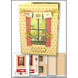 Download - Card Kit - Christmas Window