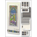Download - Card Kit - Nativity Stained Glass Window