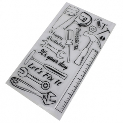 Clear Stamp set - Tools