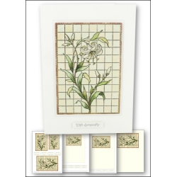 Download - Card Kit - Stained Glass Lily