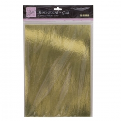 A4 Mirror Board (20pk, 250gsm) - Gold (ANT 1641001)