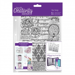 A5 Clear Stamp (1pc) - Musicality background (DCE 907106)