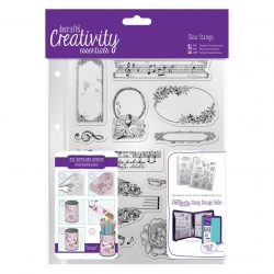 A5 Clear Stamp (14pcs) - Musicality (DCE 907112)