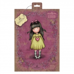 A4 Decoupage Pack - Gorjuss, Heartfelt (GOR 169123)