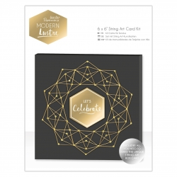 "6 x 6"" String Art Card Kit - Modern Lustre (PMA 150637)"