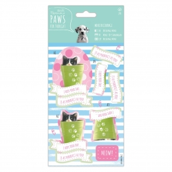 Mini Decoupage - Paws for Thought, Purrrfect (PMA 169143)