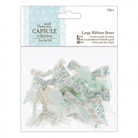 Large Ribbon Bows (12pcs) - Eau de Nil (PMA 367212)