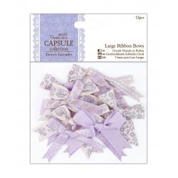 Large Ribbon Bows (12pcs) - French Lavender (PMA 367217)