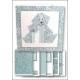 Download - Card kit - Origami Dog Teal