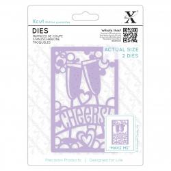 Dies (2pcs) - Cheers! (XCU 503088)