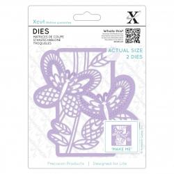 Dies (2pcs) - Butterfly Panel (XCU 503127)