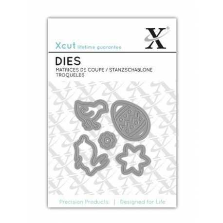 Mini Die (5pcs) - Easter Medley (XCU DCM 005)