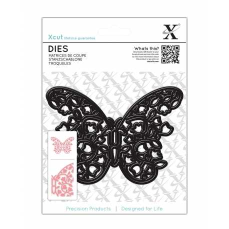Dies (1pc) - Floral Filigree Butterfly (XCU 503218)
