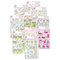 Spring Die-cut Decoupage Bumper pack (10 sheets)