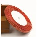 Metallic Ribbon - 7mm Red/Gold (22.86 metres)