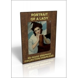 Download - 50 Image Graphics Collection - Portrait of a Lady