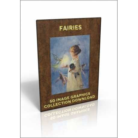 Download - 50 Image Graphics Collection - Fairies