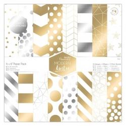 """6 x 6"""" Paper Pack (36pk) - Modern Lustre (PMA 160509)"""