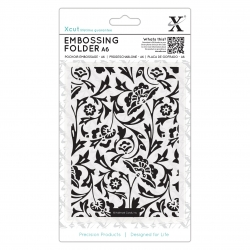 A6 Embossing Folder - Baroque Florals (XCU 515192)