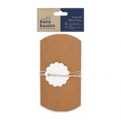 Kraft Gift Pillow Boxes (PMA 174013)