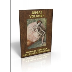 Download - 50 Image Graphics Collection - Degas Volume 1