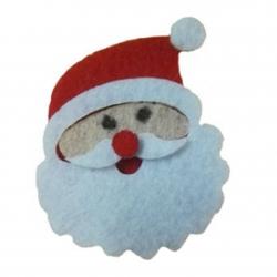 Felt Santas (4pcs)
