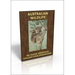 Download - 50 Image Graphics Collection - Australian Wildlife