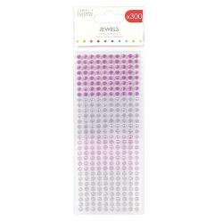 Simply Creative Jewels - 6mm Purples (SCDOT142)