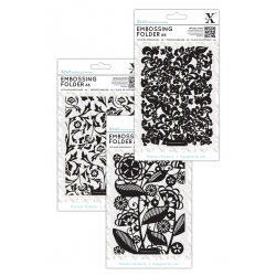 A6 Embossing Folder Triple pack
