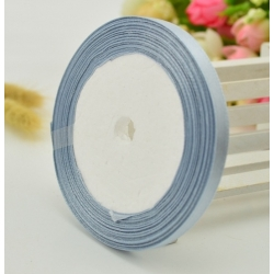 6mm Satin Ribbon - Silver/grey (25 yards)