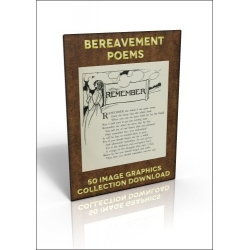 Download - 50 Image Graphics Collection - Bereavement Poems