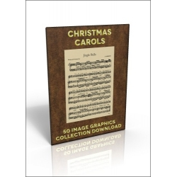 Download - 50 Image Graphics Collection - Christmas Carols