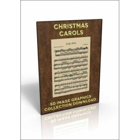 Download - 50 Image Graphics Collection - Christmas Carols
