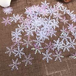 Padded Snowflakes (300pcs)