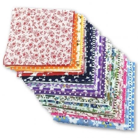 Fabric Squares 10 x 10cm (30pcs)