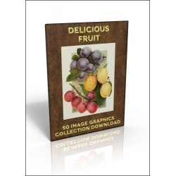 Download - 50 Image Graphics Collection - Delicious Fruit