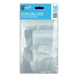 Resealable Storage Bags - 50 Pack (HOM0685)