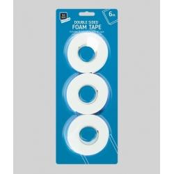 Double-sided Foam Tape, 3 rolls (STA0306)