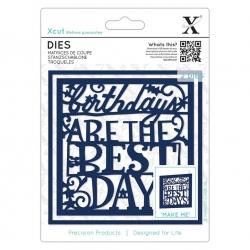 Dies (2pcs) - Birthdays are the Best Days (XCU 503367)