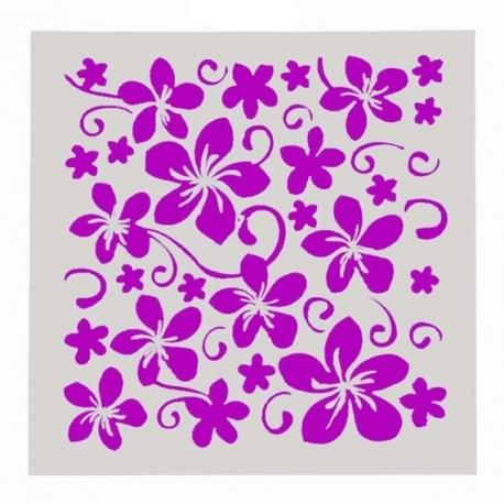 Reusable Stencil - Flowers (1pc)