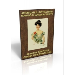 Download - 50 Image Graphics Collection - American Illustrators: Howard Chandler Christy