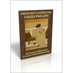 Download - 50 Image Graphics Collection - American Illustrators: Coles Phillips