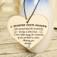 Wooden sign - A Whisper from Heaven (1pc)