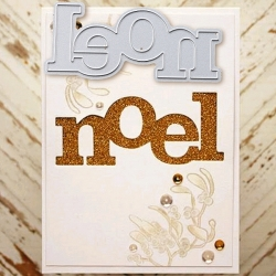 Printable Heaven die - Noel (1pc)