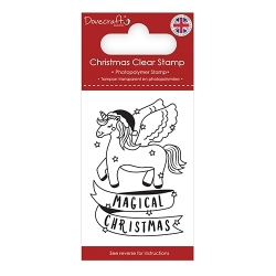 Dovecraft Clear Stamp - Magical Christmas (DCSTP174X18)