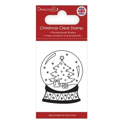 Dovecraft Clear Stamp - Snow Globe (DCSTP171X18)