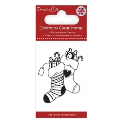 Dovecraft Clear Stamp - Stockings (DCSTP172X18)