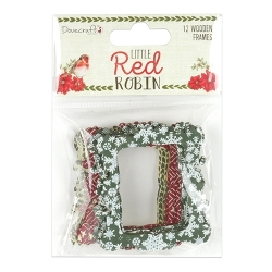 Dovecraft Little Red Robin - Wooden Frames (DCWDN066X18)