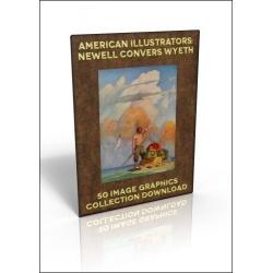 Download - 50 Image Graphics Collection - American Illustrators: Newell Convers Wyeth