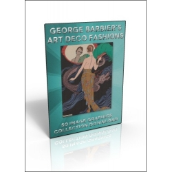 Download - 50 Image Graphics Collection - George Barbier's Art Deco Fashions